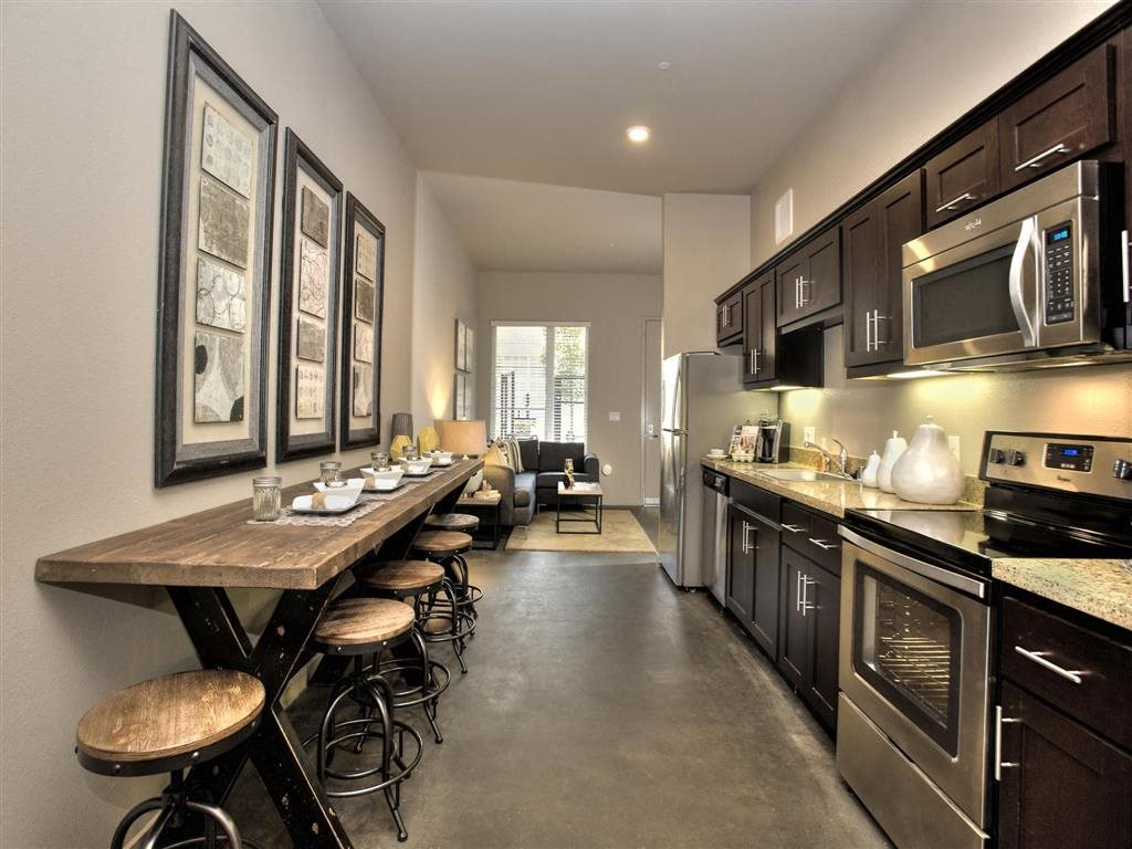 Kitchen Brand New Apartments for Rent | Mason at Hive Apartments in Oakland, CA Now Leasing
