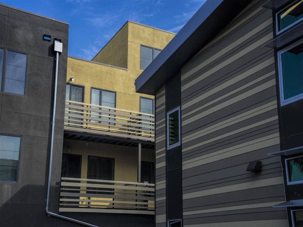 Exterior Building Brand New Apartments for Rent | Mason at Hive Apartments in Oakland, CA Now Leasing