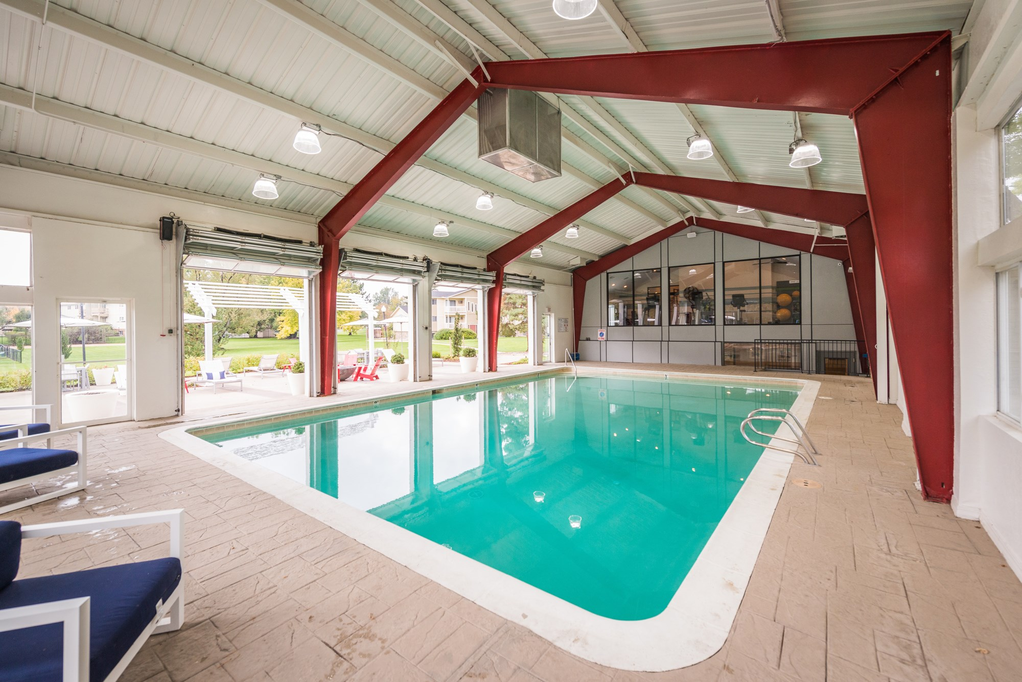 Swimming Pool at Village Gardens Apartments in Fort Collins, CO