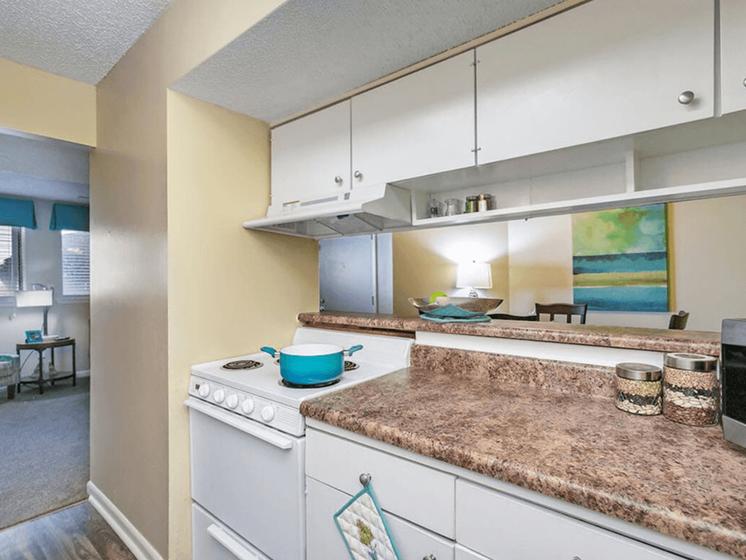 apartment kitchen in Wichita