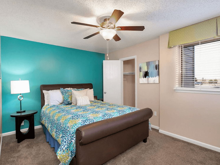 primary bedroom in Wichita