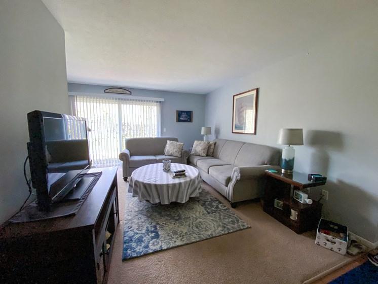 Maple Park 2 Bedroom Living Room