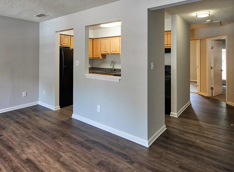 Floors in apartments in York County Va