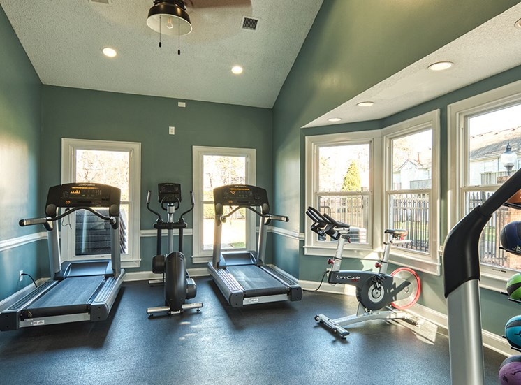 Fitness Center at The Courts at Yorkshire Downs