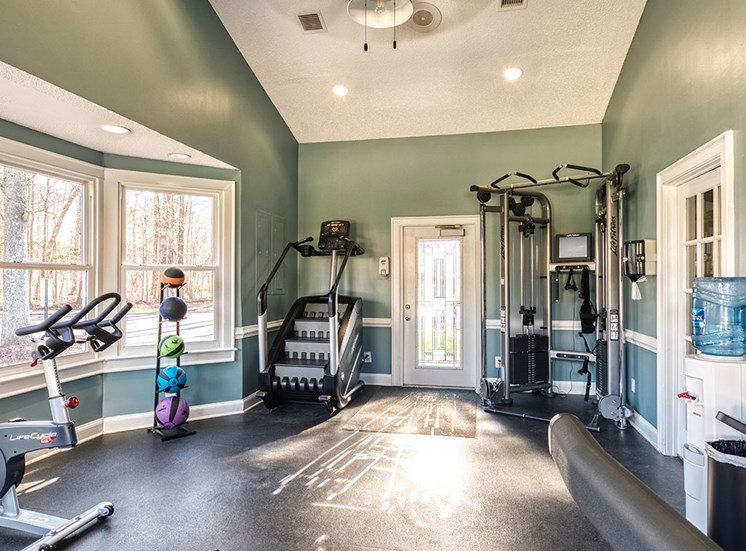 Fitness Center at Apartments in York County VA