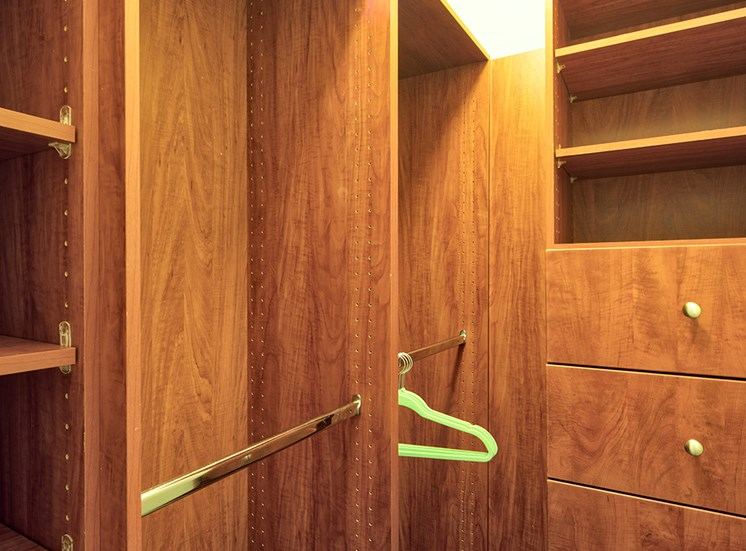 Master Bedroom Closet in Apartments in York County Va