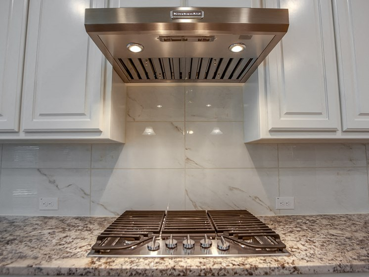 Gas stoves at Cottages at the Realm, Luxury Homes for rent in Castle Hills, Texas 75056