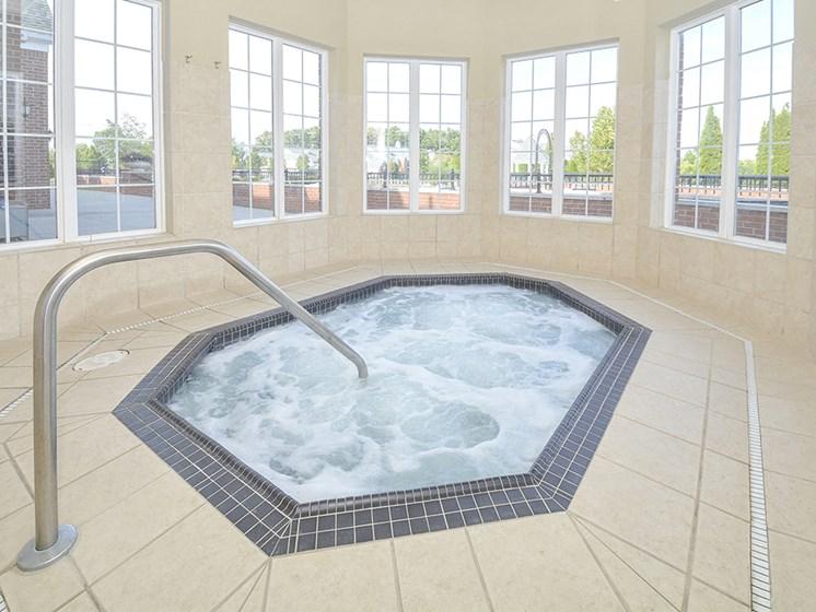 Indoor Hot Tub Whirlpool