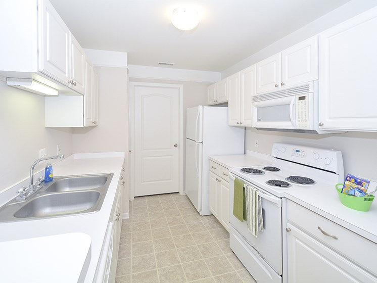 Spacious Kitchen with Extra Storage and Large Cabinets