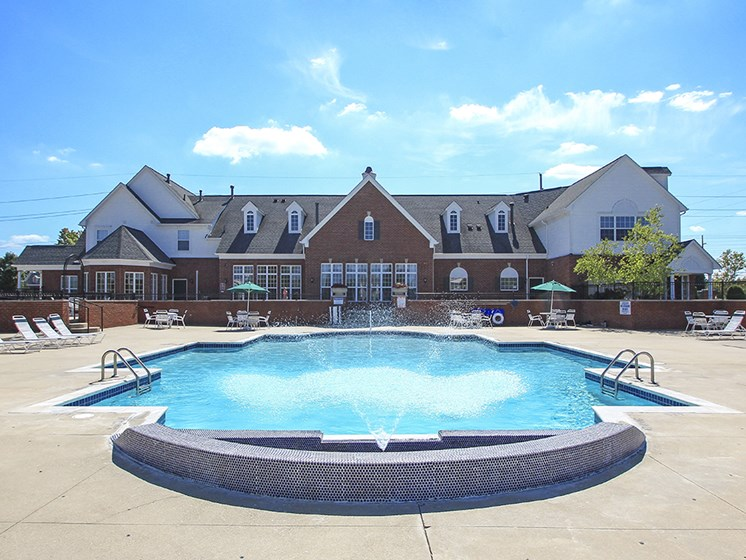 Outdoor Pool and Sun Deck