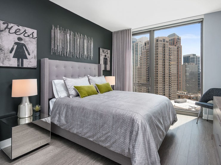 Live in Cozy Bedroom at 1001 South State, Chicago, IL, 60605