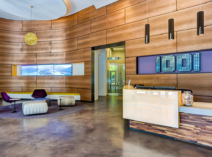 Renovated Concierge at 1001 South State, Chicago, Illinois