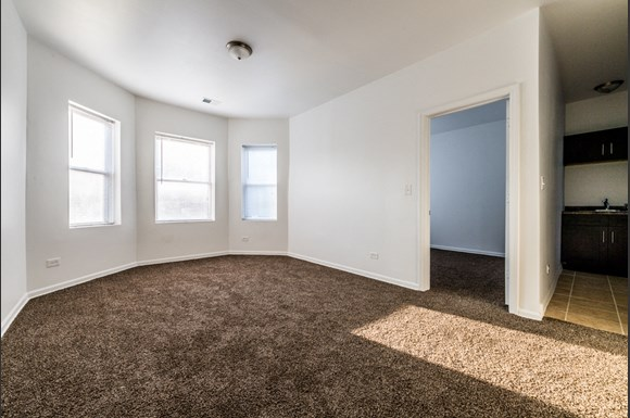 South Austin Apartments for rent in Chicago   5201 W Washington Blvd Living Room