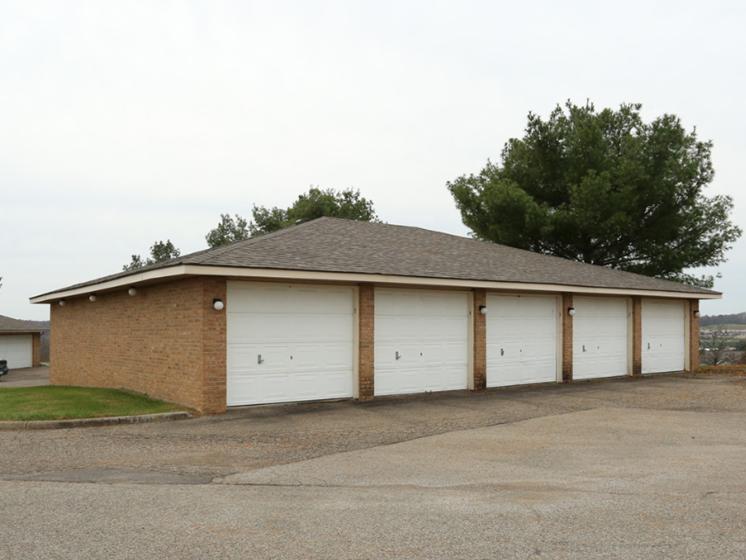 Image of detached garages