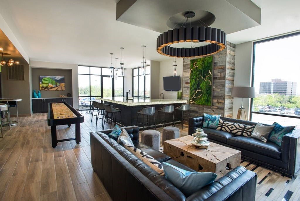 Resident Lounge at Union West Apartments in Lakewood, CO