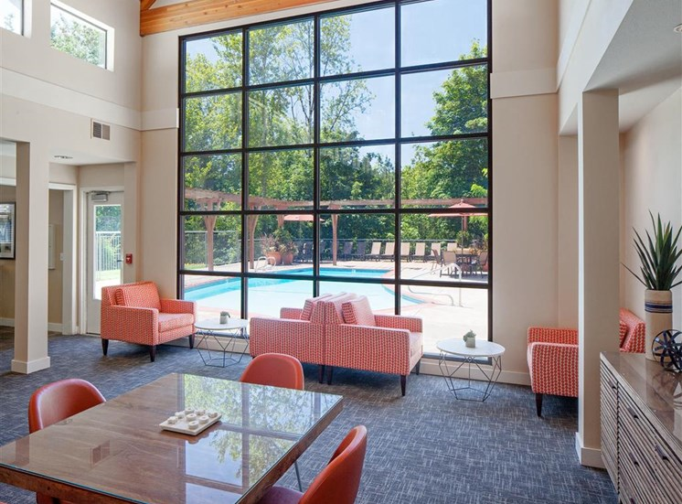Clubhouse with Upgraded Interiors  at Parkridge Apartments, Oregon