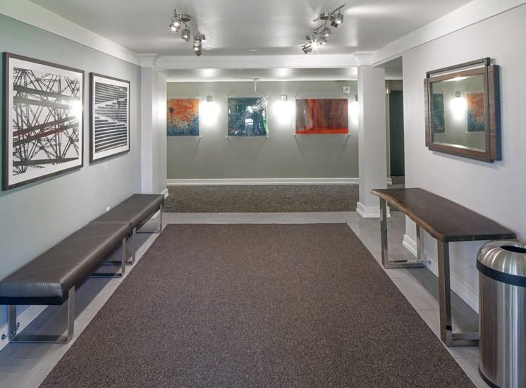 Hallway at Parkridge Apartments, Lake Oswego, OR 97035