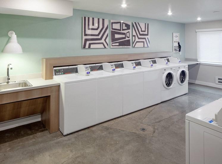 Laundry Room at Parkridge Apartments, Lake Oswego, OR 97035