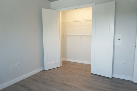 Loads of Closet Space