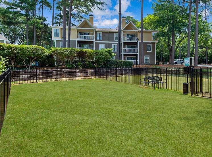 Dog Park 2 at Sommerset Place Apartments in Raleigh NC