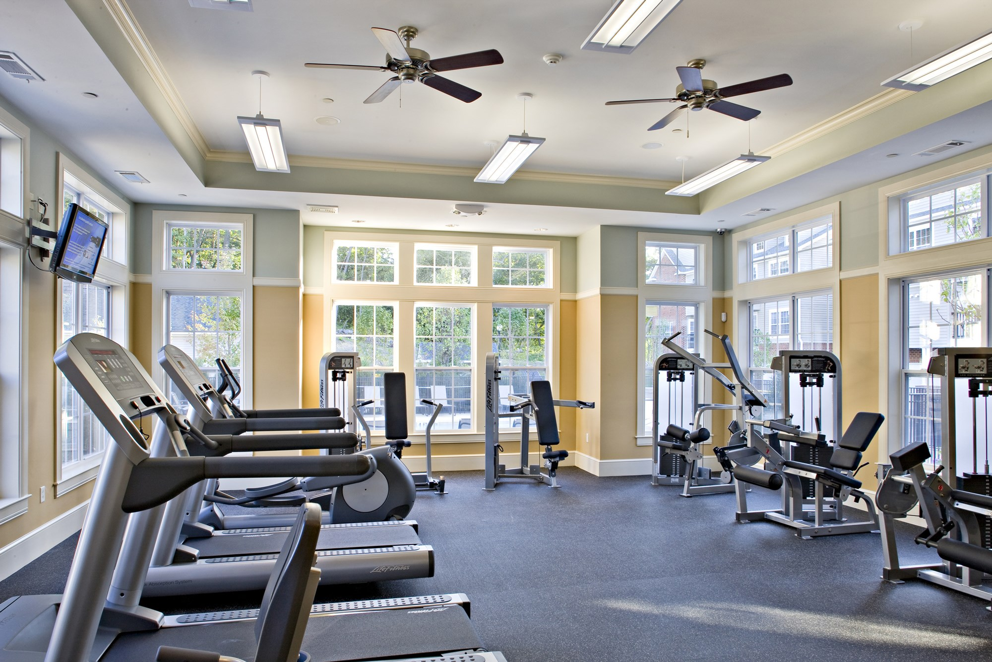 Fitness Center at Huntington Townhomes in Shelton, CT