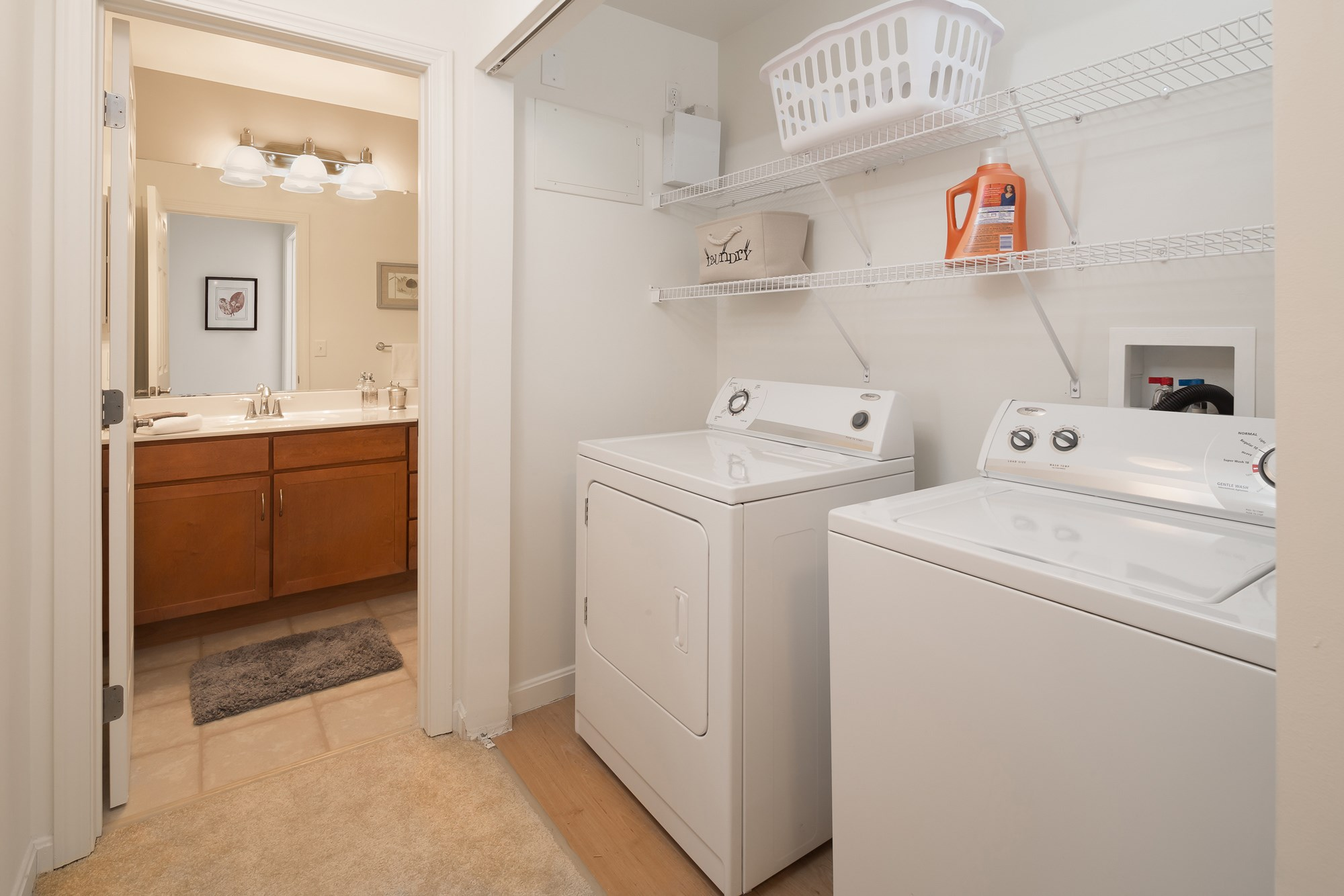Laundry at Huntington Townhomes in Shelton, CT