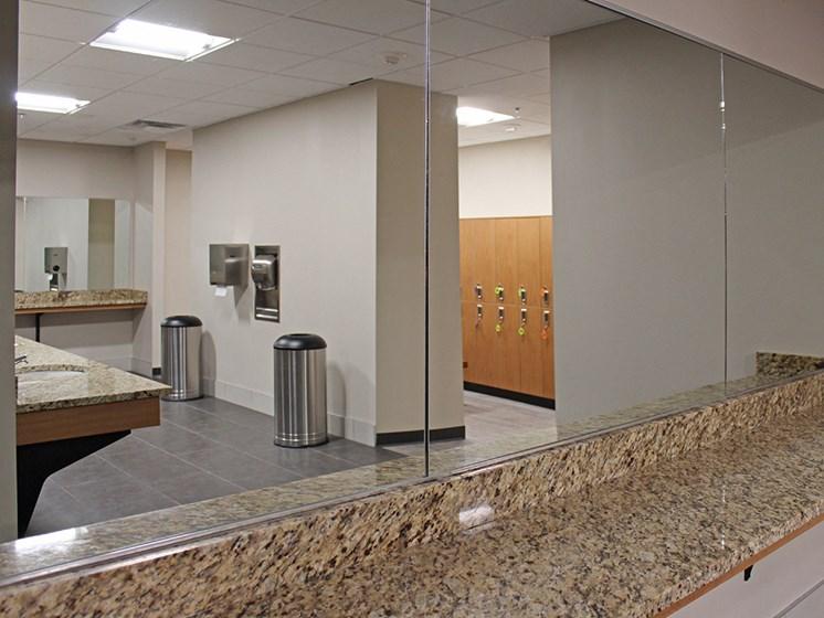 Locker Room at Residences at Halle, Cleveland, 44113