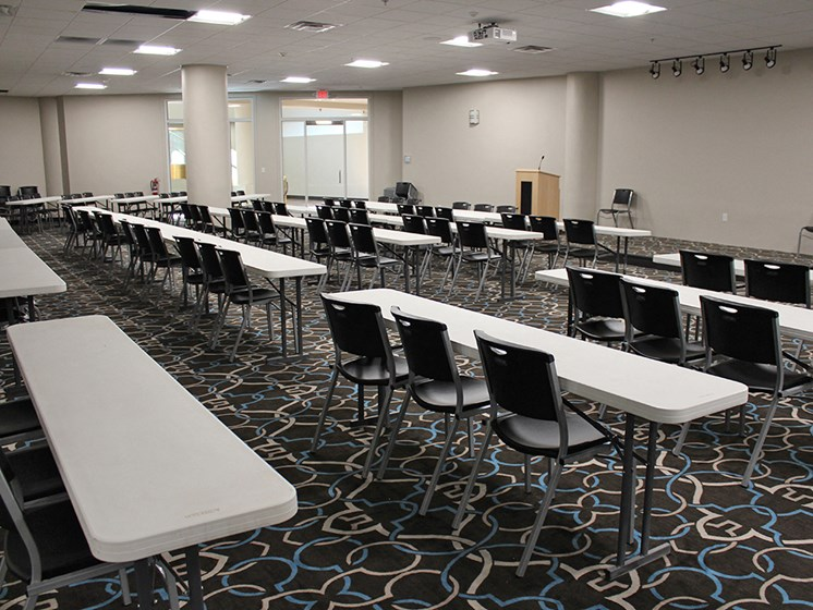 Big Conference Room at Residences at Halle, Cleveland, Ohio