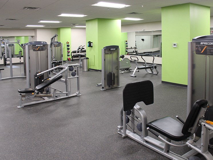 High Endurance Fitness Center at Residences at Halle, Ohio, 44113