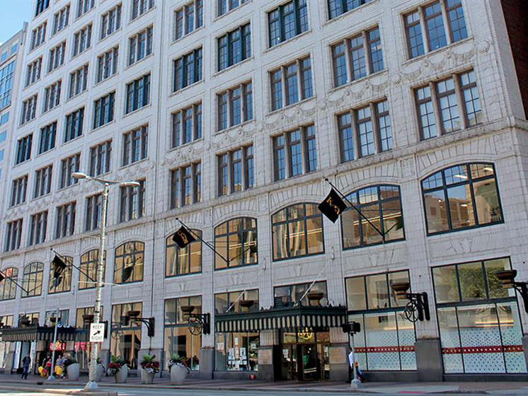 Vibrant and Active Neighborhood at Residences at Halle, Cleveland