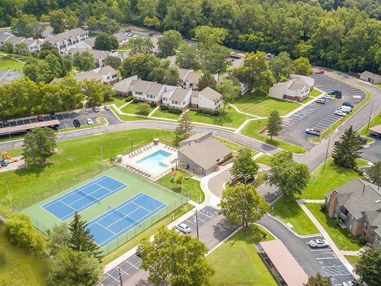 Top view of our community,, at Northville Woods, Michigan, 48168