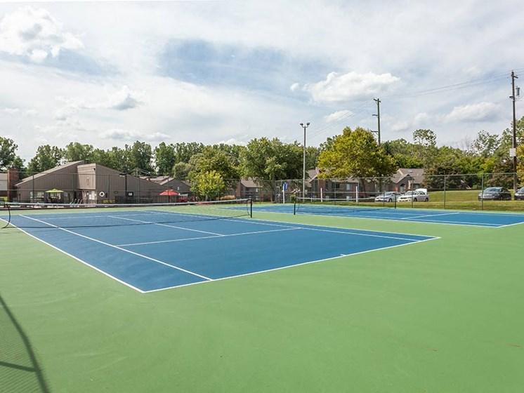 Tennis Courts, at Northville Woods, Northville, MI 48168