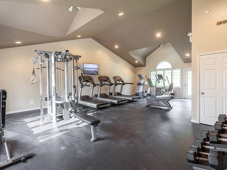 Fitness Center Access, at Northville Woods, Michigan