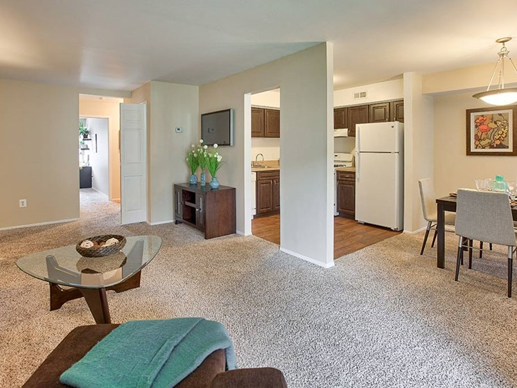 Expansive Vaulted Ceilings in Select Homes, at Northville Woods, Northville Michigan