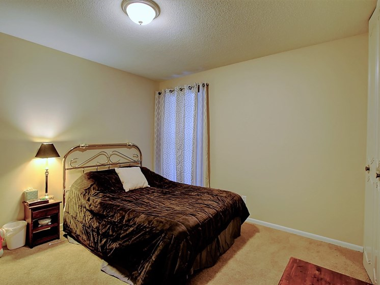 Image of bedroom with bed