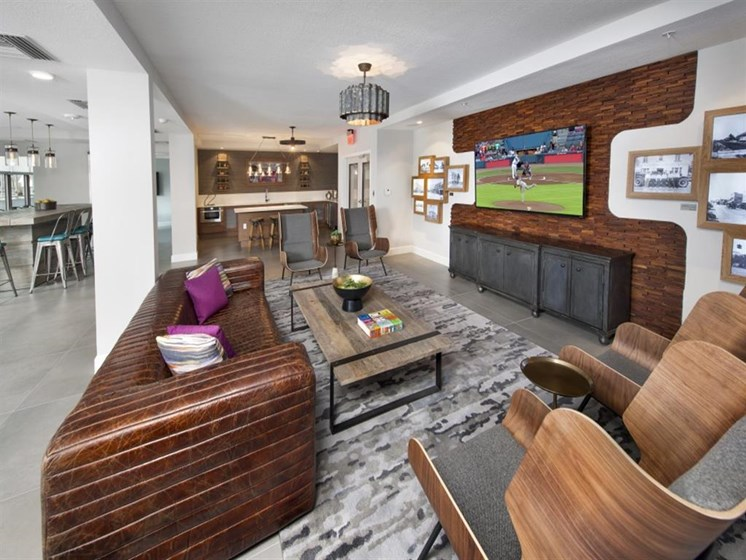 Floor Plan with Advanced Amenities at SofA Downtown Luxury Apartments, Delray Beach