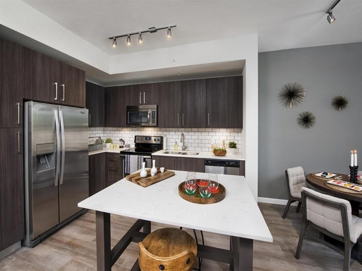 •All Kitchens and Baths Complete with Quartz Countertops at SofA Downtown Luxury Apartments, Delray Beach, FL 33483