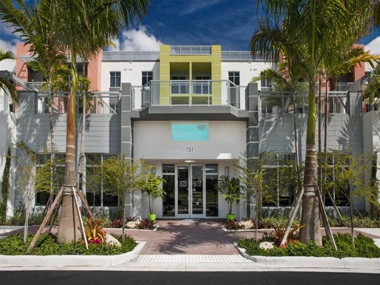 Beautiful Park-like Setting at SofA Downtown Luxury Apartments, Delray Beach, 33483