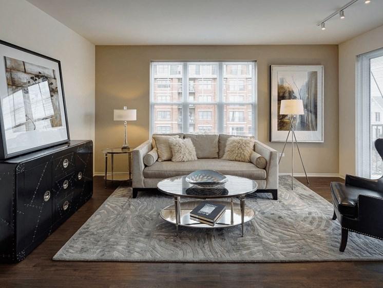 Plush Carpeting at Courthouse Square Apartments, Wheaton, IL, 60187