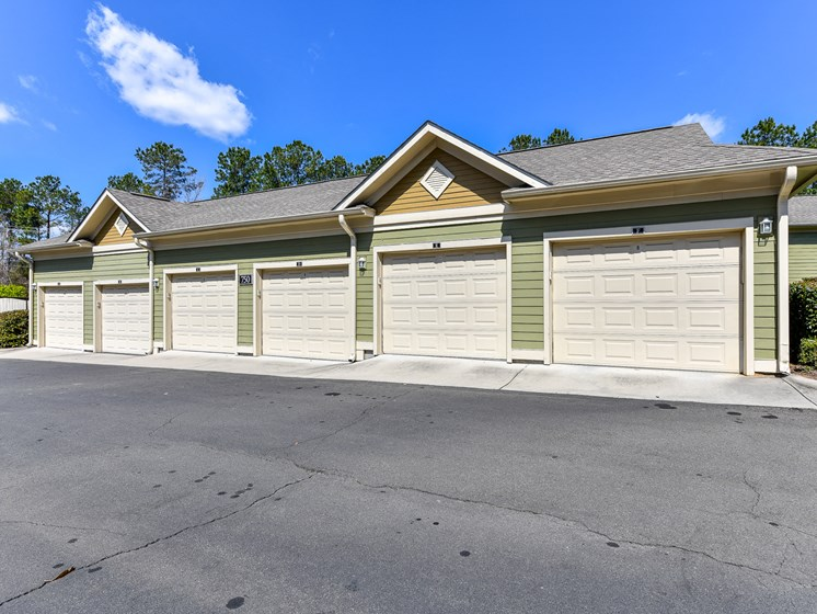 Garages and Storage Units Available at Alden Place at South Square Apartments,Durham, NC 27707