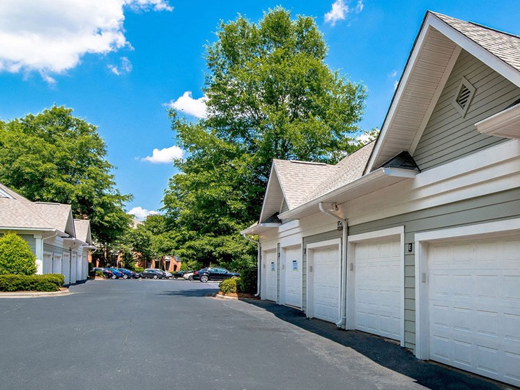 Garages and Storage Units Available at Autumn Park Apartments, Charlotte, NC 28262