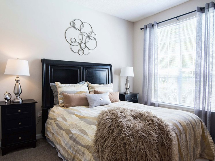 Guest Bedroom Feels Large and Spacious Bedrooms with Expansive Closets at Autumn Park Apartments, Charlotte, NC 28262