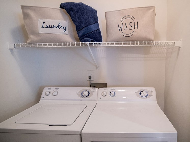 Laundry Convenience with Washer and Dryer in All Units at Autumn Park Apartments, Charlotte, NC 28262