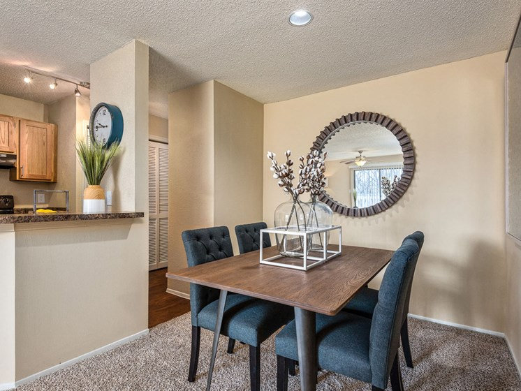 Extra Space for Dining Area at Hampton Woods, Shawnee, Kansas