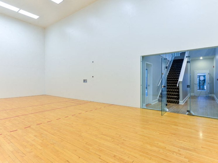 Enjoy aGameofRacquetballin our Two IndoorRacquetball Courts at Hampton Woods, Shawnee, 66217