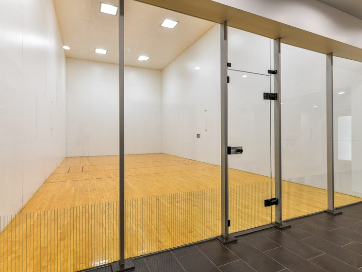 Enjoy an Invigorating GameofRacquetballin our IndoorRacquetball Courts at Pointe Royal Townhome Apartments, Overland Park, KS 66213