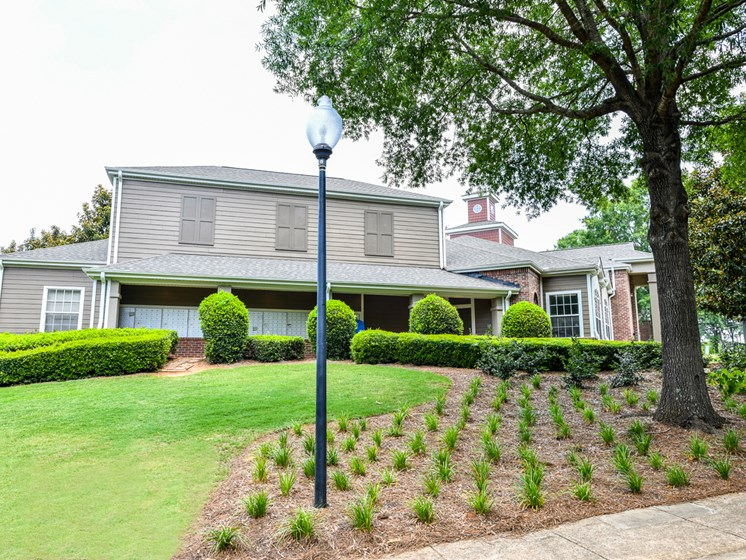 Lush Green Outdoor Spaces at Polos at Hudson Corners, Greer, SC
