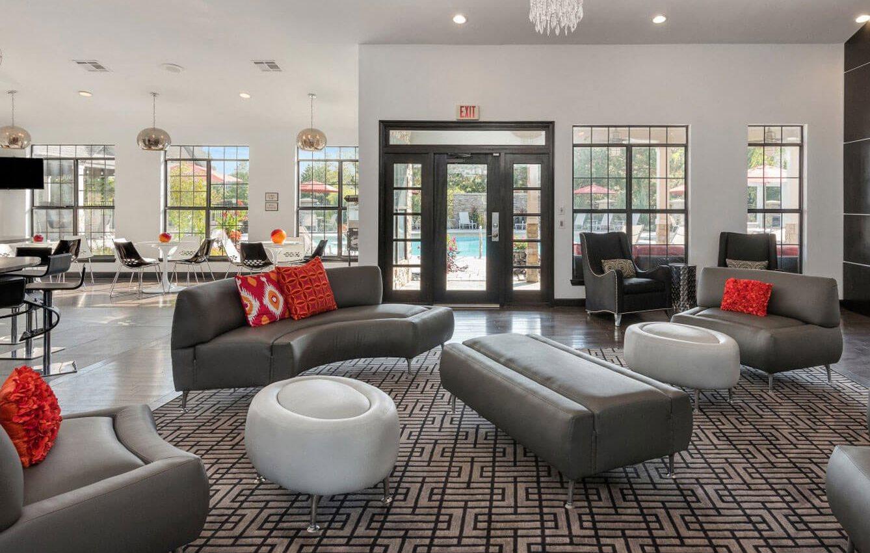 Optimized Living room at Sandstone Creek, Kansas, 66223
