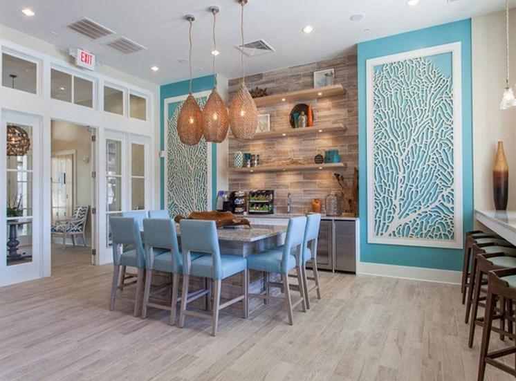 Clubhouse Dining Area at Spyglass Seaside, South Carolina