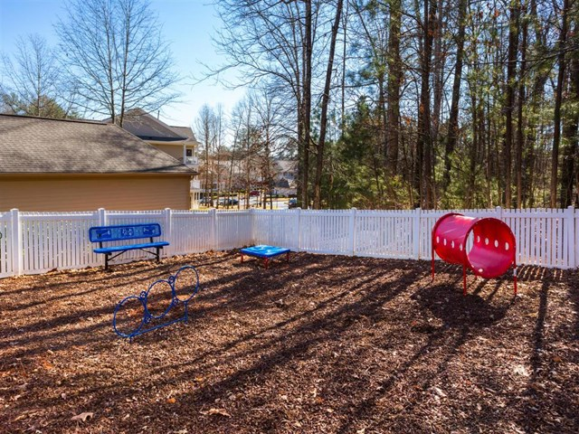 Dog Park Featuring Agility Equipment at St. Andrews Apartment Homes, Johns Creek, GA
